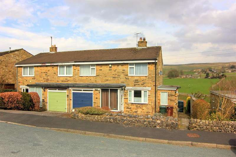3 Bedrooms Semi Detached House for sale in 26 High Bank, Threshfield