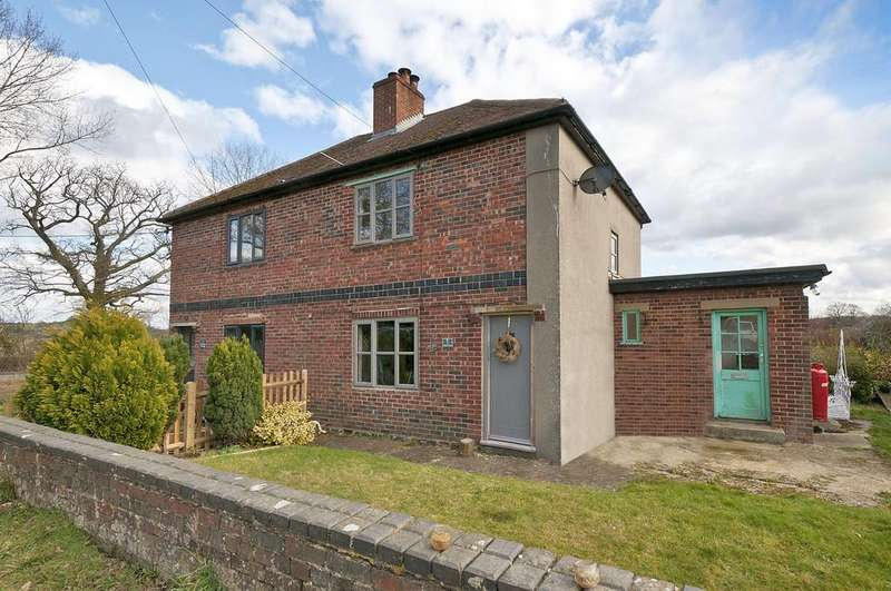 3 Bedrooms Semi Detached House for sale in Hartfield Road, Cowden