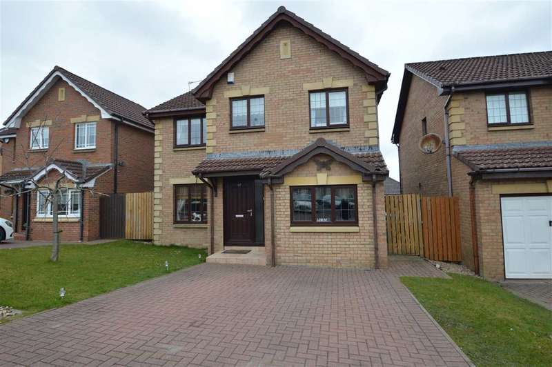 4 Bedrooms Detached House for sale in Saffron Crescent, Wishaw