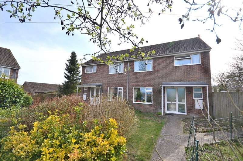3 Bedrooms Semi Detached House for sale in Horsehill Place, Donhead St. Mary, Shaftesbury, Wiltshire, SP7