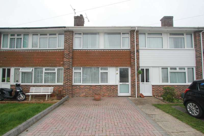 2 Bedrooms Terraced House for sale in Daniel Close, Lancing