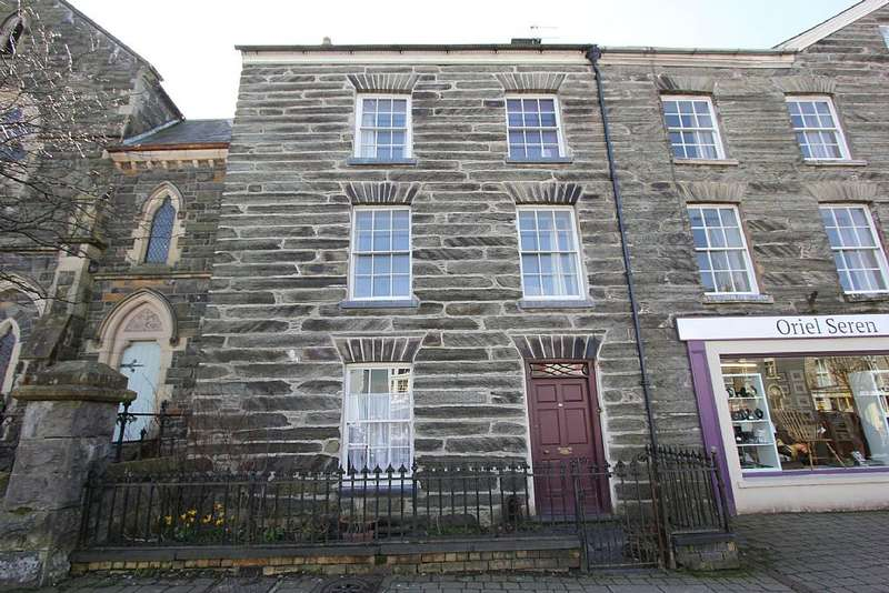 4 Bedrooms End Of Terrace House for sale in Heol Maengwyn, Machynlleth, Powys, SY20 8DT