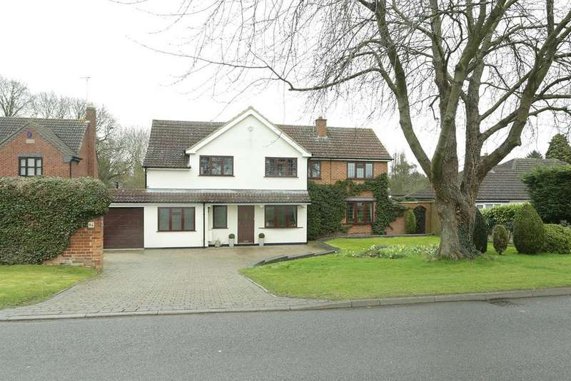 5 Bedrooms Detached House for sale in 64 Fairfield Road, Market Harborough