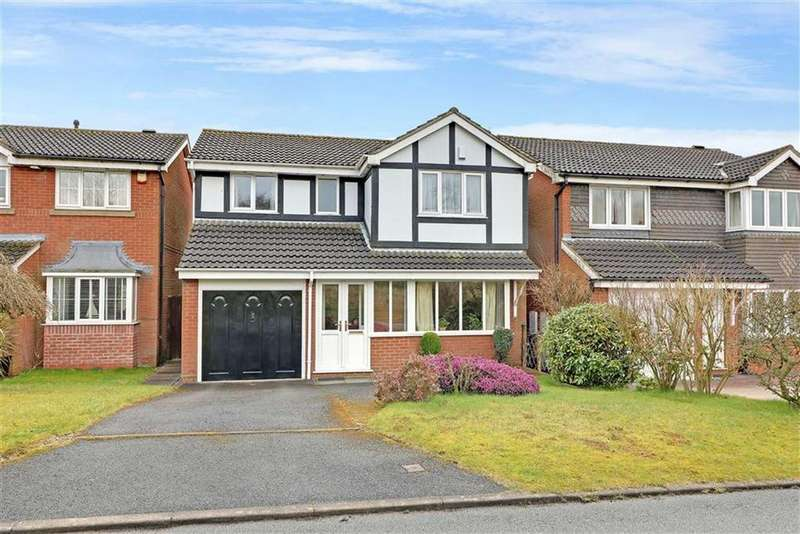4 Bedrooms Detached House for sale in Eddisbury Drive, Waterhayes, Newcastle-under-Lyme
