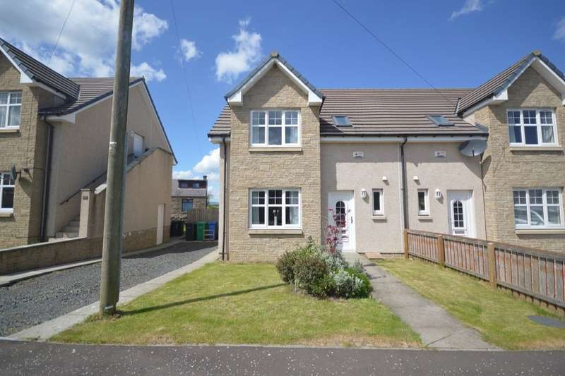 3 Bedrooms Semi Detached House for sale in Burnbank Terrace, Thornton, Kirkcaldy, KY1