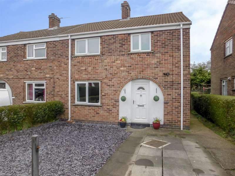 3 Bedrooms Semi Detached House for sale in Park Avenue, Castle Donington