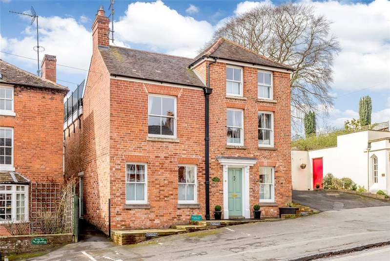 4 Bedrooms Semi Detached House for sale in Lower Broad Street, Ludlow, Shropshire
