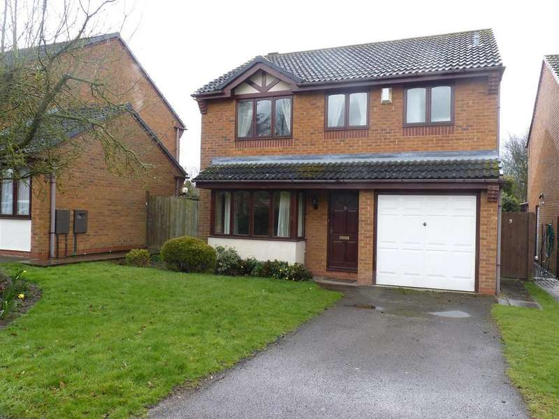 4 Bedrooms Detached House for sale in Claremont Drive, Market Harborough