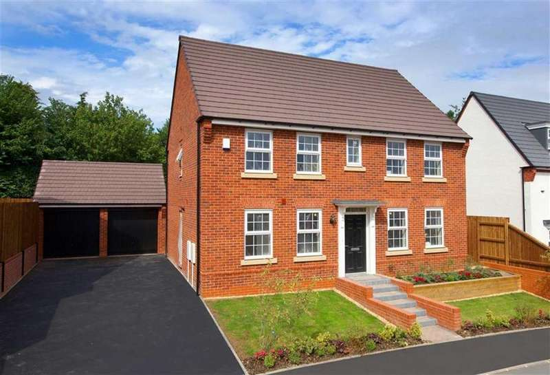4 Bedrooms Detached House for sale in Montgomery Place, Oswestry