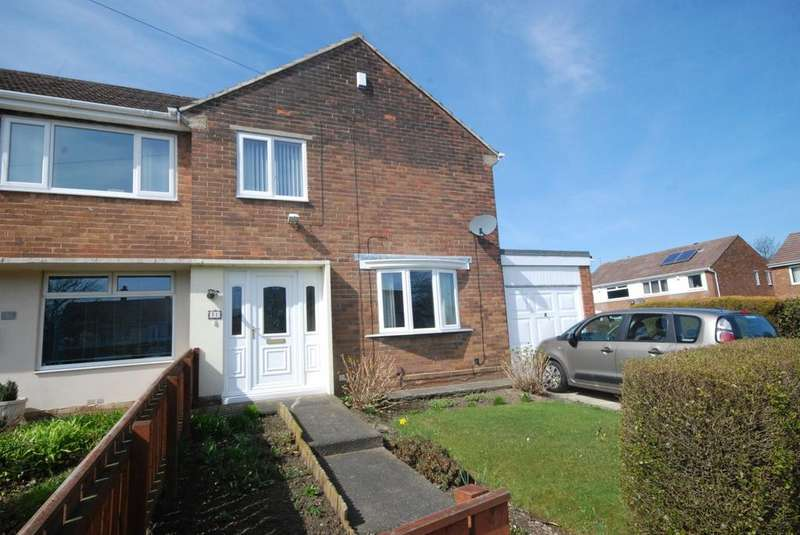 3 Bedrooms Semi Detached House for sale in Kelly Road, Hebburn