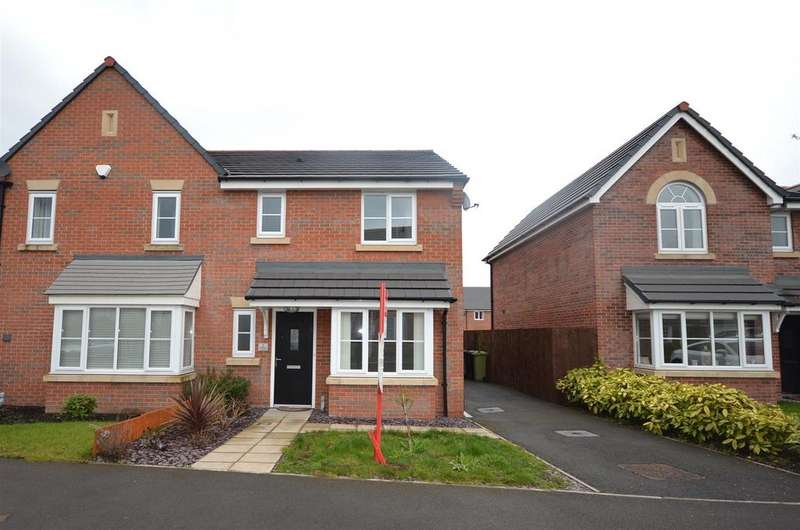 3 Bedrooms Semi Detached House for sale in Kingfisher Crescent, Sandbach