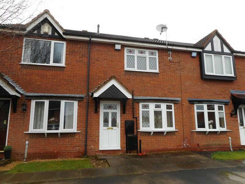 2 Bedrooms Terraced House for sale in Coxmoor Close, Bloxwich, Walsall