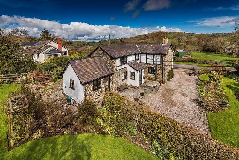 3 Bedrooms Detached House for sale in Rhos -y-Brithdir, Llanfyllin