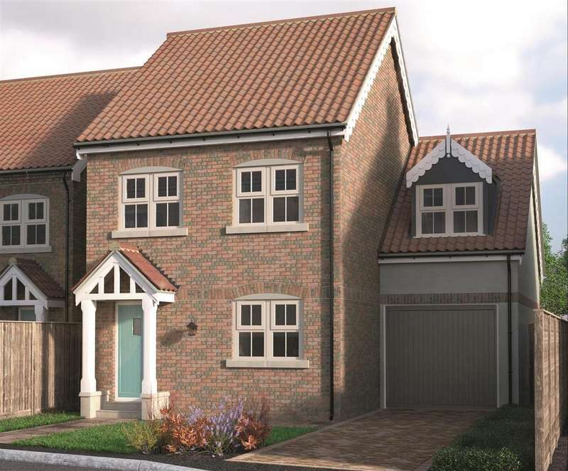 3 Bedrooms Detached House for sale in Plot 11, Rudds Yard, Station Road, Nafferton