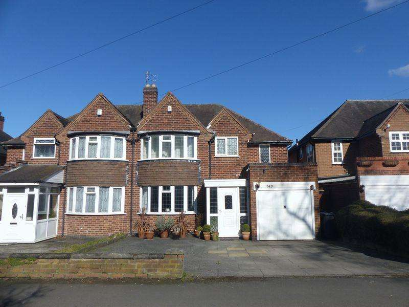 3 Bedrooms Semi Detached House for sale in Friary Road, Birmingham