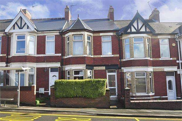 3 Bedrooms Terraced House for sale in Caerleon Road, St Julians, Newport, Gwent. NP19 7HX
