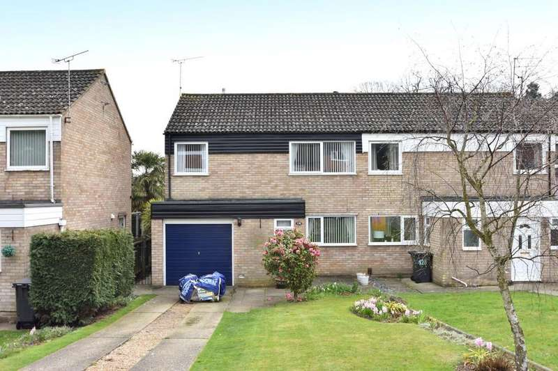 3 Bedrooms Semi Detached House for sale in Heatherhayes, Ipswich, IP2 9SG