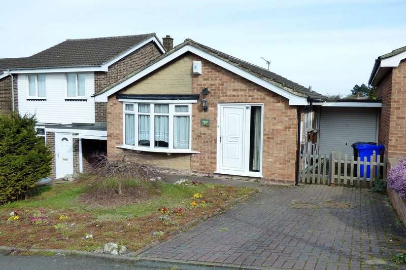 2 Bedrooms Detached Bungalow for sale in Hawthorn Crescent, Stapenhill