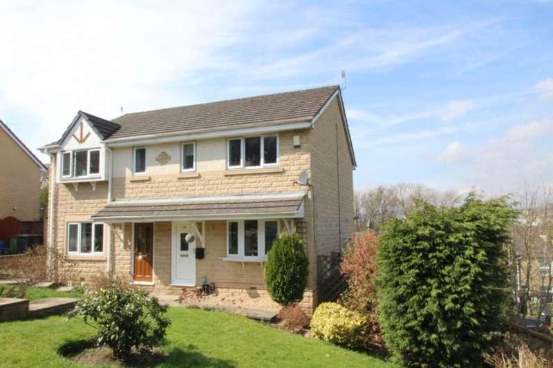 3 Bedrooms Semi Detached House for sale in Kilburn Close, Almondbury, Huddersfield, HD5