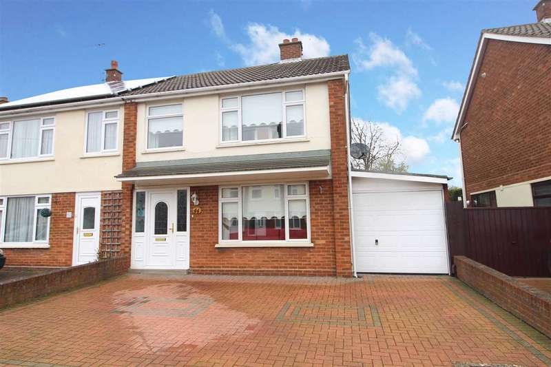 3 Bedrooms Semi Detached House for sale in Lonsdale Close, Ipswich