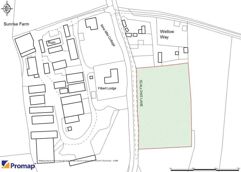 Land Commercial for sale in Scallows Lane, West Wellow, Hampshire, SO51