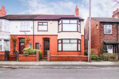 4 Bedrooms Semi Detached House for sale in Whitham Avenue, Liverpool, Merseyside, L23