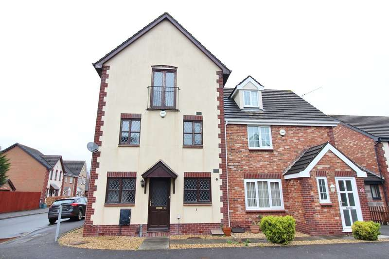 4 Bedrooms Semi Detached House for sale in White Avenue, Newport, NP10