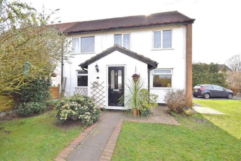 2 Bedrooms Semi Detached House for sale in Distaff Road, Poynton