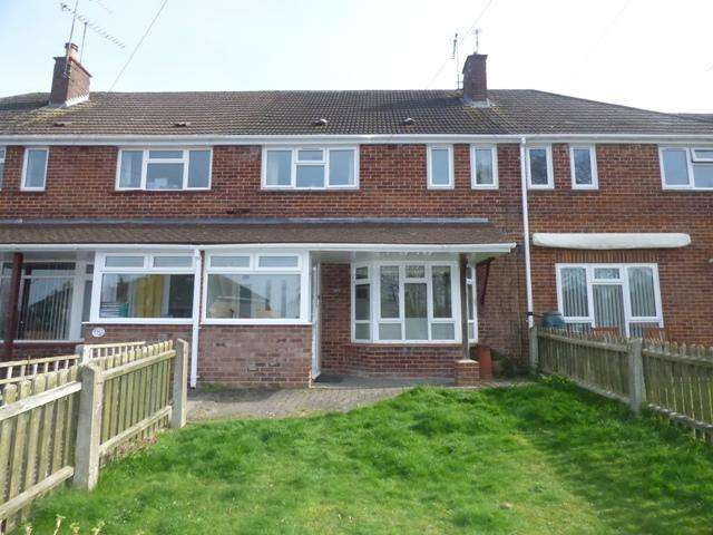 3 Bedrooms Terraced House for sale in BERE HILL CRESCENT, ANDOVER SP10