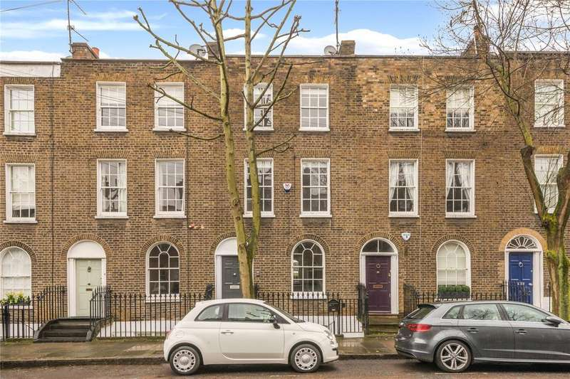 2 Bedrooms Maisonette Flat for sale in Brooksby Street, Barnsbury, Islington, London