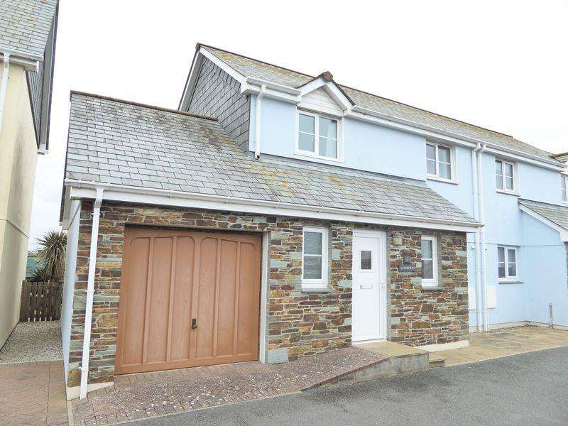 3 Bedrooms Semi Detached House for sale in Jacks Mews, Tintagel