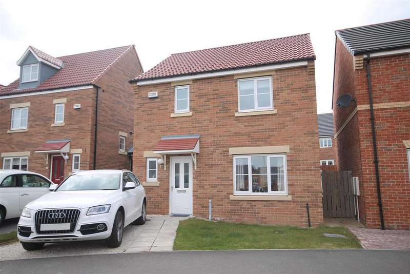 3 Bedrooms Detached House for sale in Crocus Gardens, Bishop Cuthbert, Hartlepool