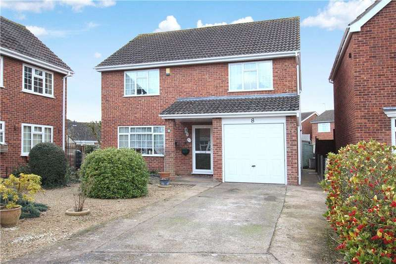 4 Bedrooms Detached House for sale in Sudeley Close, Malvern, Worcestershire, WR14