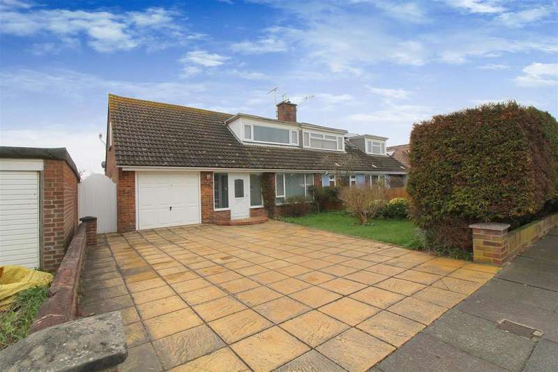 3 Bedrooms Semi Detached House for sale in Winterton Way, Shoreham-By-Sea