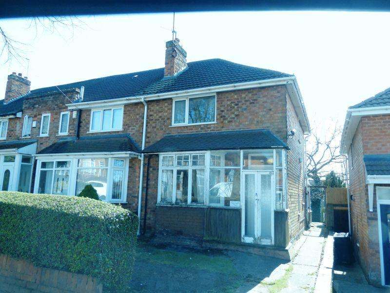 2 Bedrooms Terraced House for sale in Harleston Road, Great Barr, Birmingham