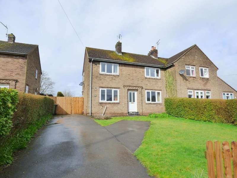 3 Bedrooms Semi Detached House for sale in The Cunnery, Kirk Langley, Ashbourne