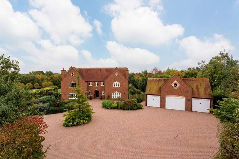 5 Bedrooms Detached House for sale in Weaverlake Drive, Yoxall