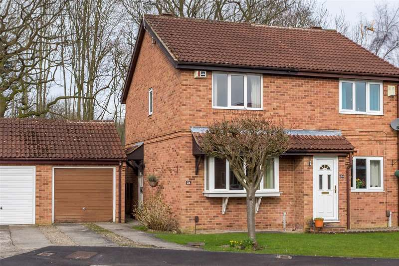 2 Bedrooms Semi Detached House for sale in Pheasant Drive, York, YO24