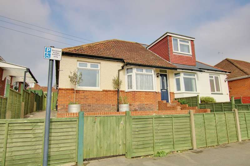 2 Bedrooms Semi Detached Bungalow for sale in Midanbury, Southampton