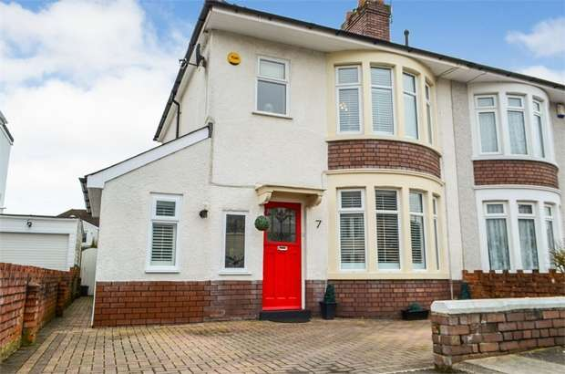 3 Bedrooms Semi Detached House for sale in Whitefield Road, Cardiff, South Glamorgan