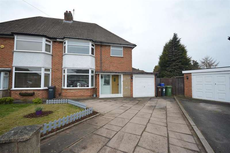 3 Bedrooms Semi Detached House for sale in Larkfield Avenue, Birmingham