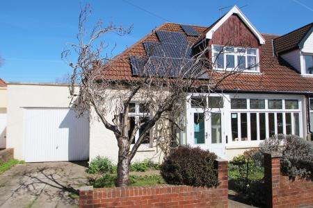 3 Bedrooms Semi Detached House for sale in Holmes Grove, Henleaze, Bristol BS9 4ED