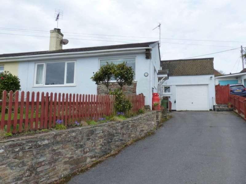 2 Bedrooms Semi Detached Bungalow for sale in Scotts Close, Kingsbridge