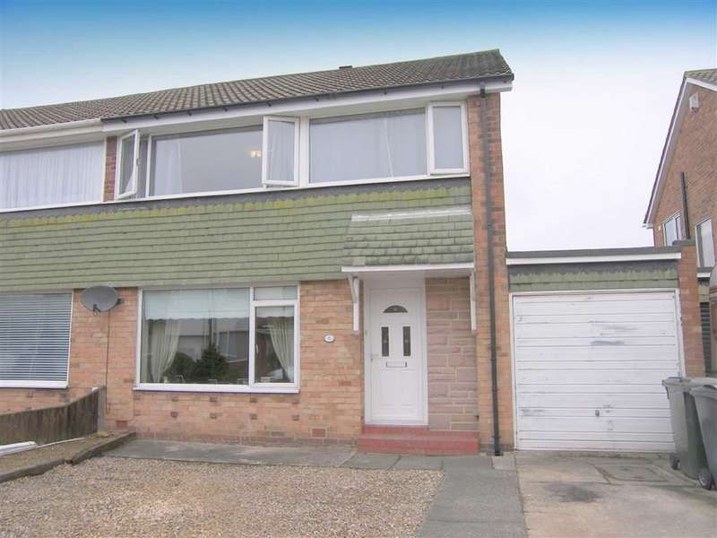 3 Bedrooms Semi Detached House for sale in Edengarth, Marden Estate, Tyne And Wear, NE30