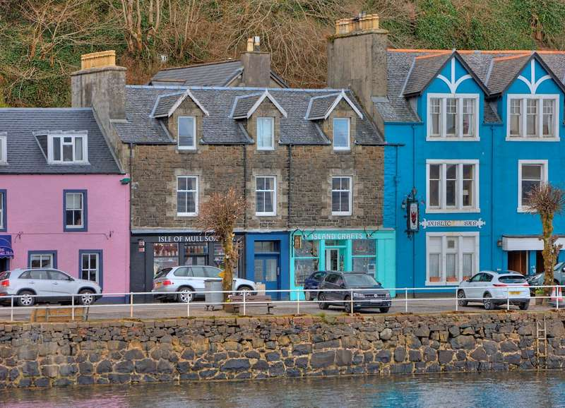 3 Bedrooms Apartment Flat for sale in 49 Main Street, Tobermory, Isle of Mull, Argyll and Bute, PA75