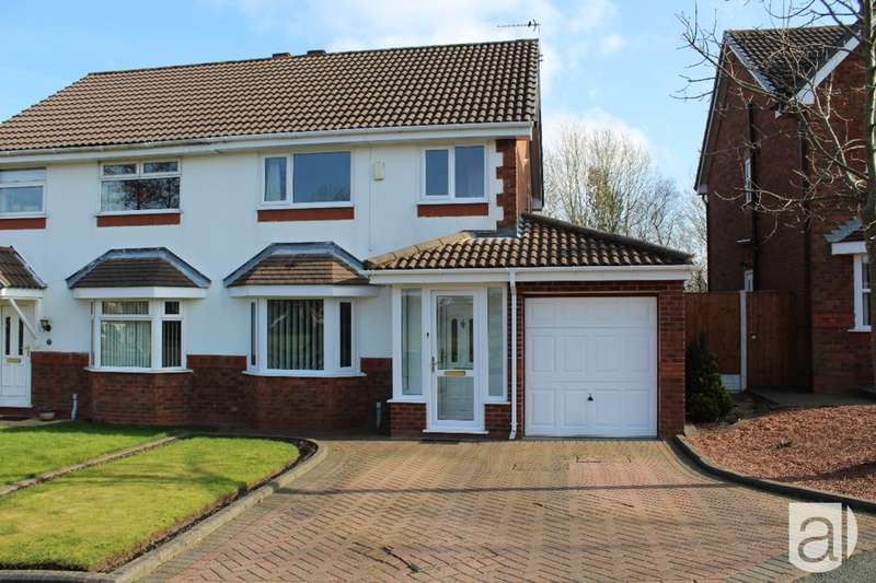 3 Bedrooms Semi Detached House for sale in Litchborough Grove Whiston L35