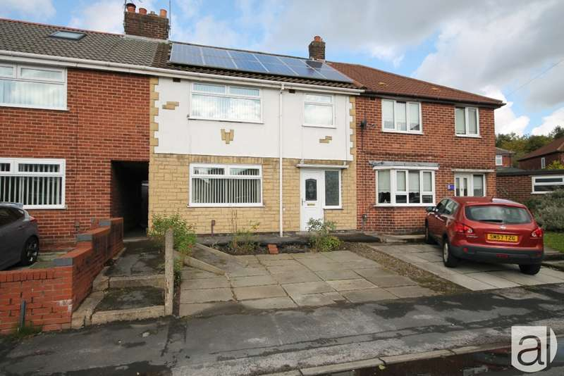 3 Bedrooms Terraced House for sale in Burns Close Whiston L35