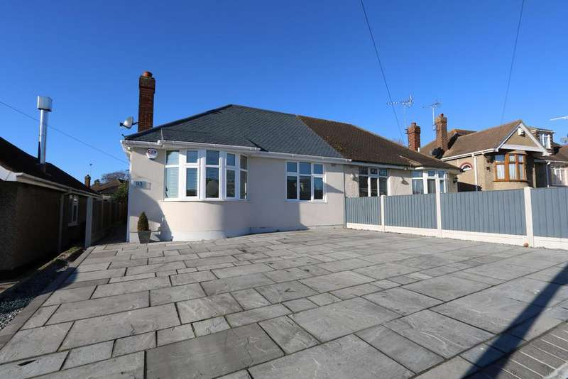3 Bedrooms Semi Detached Bungalow for sale in Weir Gardens, Rayleigh, Essex