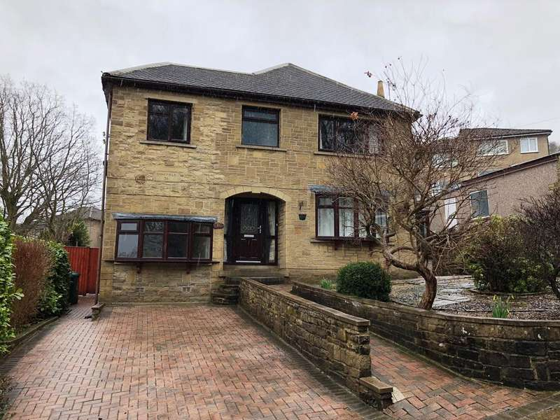 4 Bedrooms Detached House for sale in Bankfield Road, Nabwood, Shipley BD18