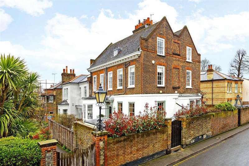 4 Bedrooms Semi Detached House for sale in Ormond Road, Richmond, Surrey, TW10